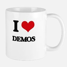 I Love Demos Mugs