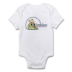 Groklaw I want to be a para Infant Bodysuit