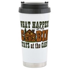 Happens At The Cabin Travel Mug