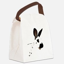 English Spot Canvas Lunch Bag
