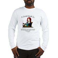 Cool Book reader Long Sleeve T-Shirt
