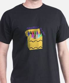 Crayon Rainbow T-Shirt