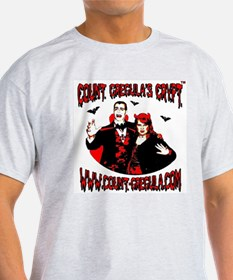 Count Gregula's Crypt T-Shirt (Light Colors)