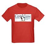 Groklaw Penguin Kids Red T-Shirt