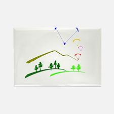 Paraglide Colour Magnets