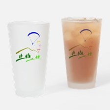Paraglide Colour Drinking Glass