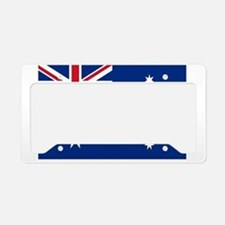 Australia flag License Plate Holder