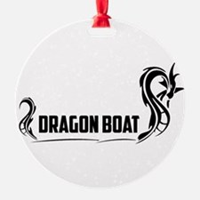 Unique Dragon boat Ornament
