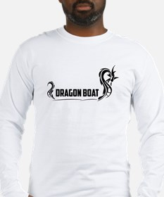 Cute Dragon boat paddler Long Sleeve T-Shirt