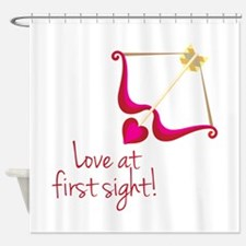 First Sight Shower Curtain