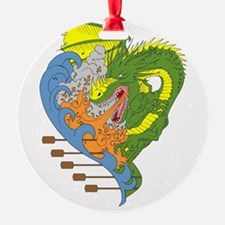 Dragon boat 9 Ornament