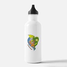 Dragon boat 9 Water Bottle