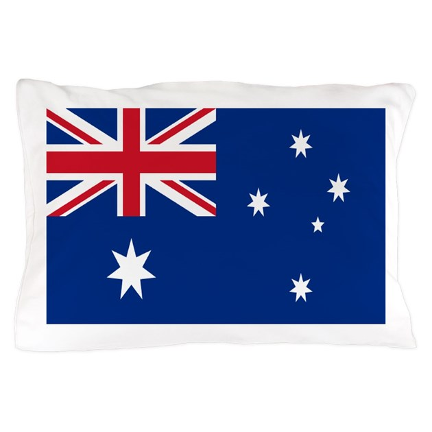 Australia Flag Pillow Case By Allcountries Flagwear