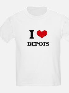 I Love Depots T-Shirt