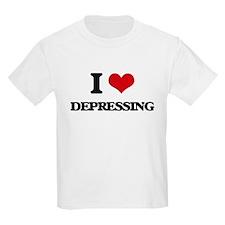 I Love Depressing T-Shirt