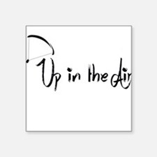 Up in the Air Sticker