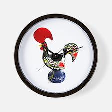 Portugal Rooster Lenda do Galo de Barce Wall Clock