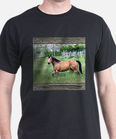 Old window horse 2 T-Shirt