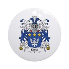 Fatta Ornament (Round)