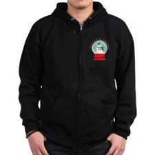 Winter Wonderland Zip Hoody