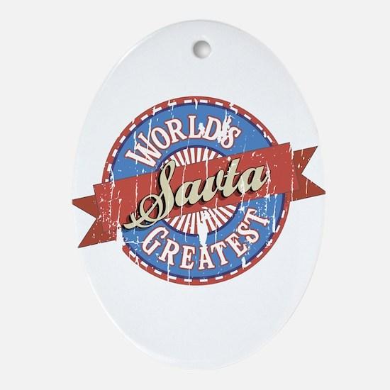 World's Greatest Savta Ornament (Oval)