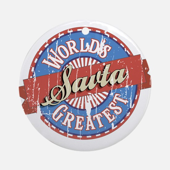 World's Greatest Savta Ornament (Round)