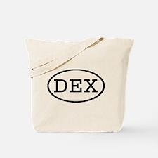 DEX Oval Tote Bag