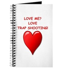 i love trap shooting Journal