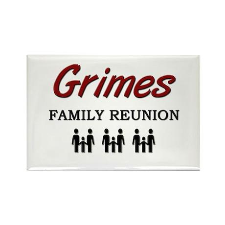 Grimes Family Reunion Rectangle Magnet