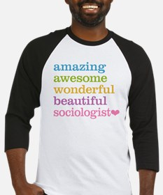 Awesome Sociologist Baseball Jersey