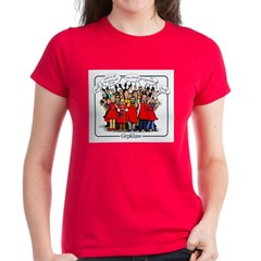 Groklaw I'm pj Women's Red T-Shirt