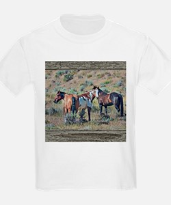 Old window horses 3 T-Shirt