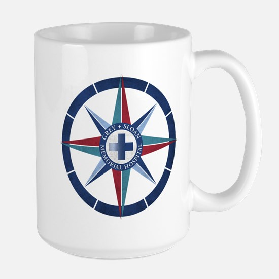 Grey Sloan Memorial Hospital Compass Large Mug