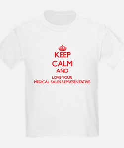 Keep Calm and love your Medical Sales Repr T-Shirt