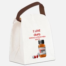 i love craps Canvas Lunch Bag