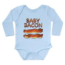 Cute Bacon infant Long Sleeve Infant Bodysuit