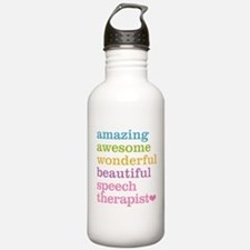 Speech Therapist Water Bottle