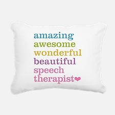 Speech Therapist Rectangular Canvas Pillow