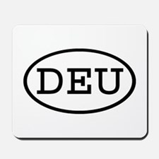DEU Oval Mousepad