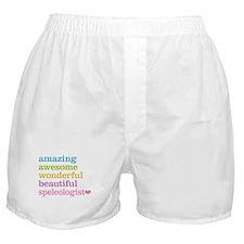 Speleologist Boxer Shorts