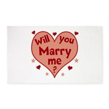 Will You Marry Me? Area Rug