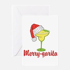 Merry-garita Greeting Cards