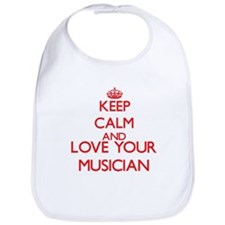 Keep Calm and love your Musician Bib