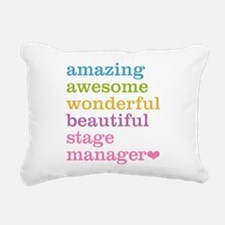 Stage Manager Rectangular Canvas Pillow
