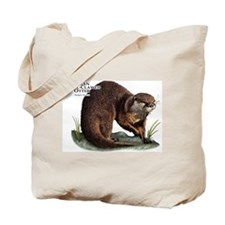 Asian Small-Clawed Otter Tote Bag