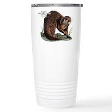 Asian Small-Clawed Otte Travel Mug