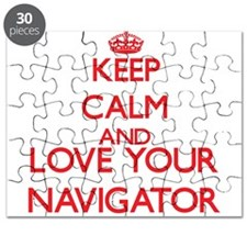 Keep Calm and love your Navigator Puzzle