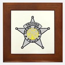 Idaho State Police Framed Tile