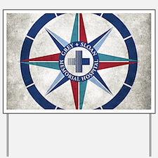 Grey Sloan Memorial Hospital Compass Yard Sign
