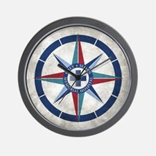 Grey Sloan Memorial Hospital Compass Wall Clock